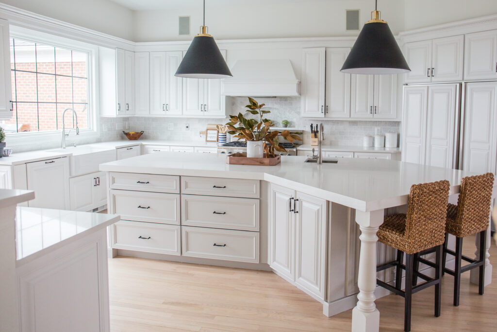 kitchen renovation of the arched manor