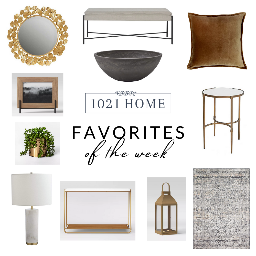 favorite home decor items of the week