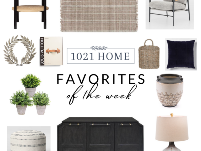 Favorite Home Decor Items of the Week – 10.23.20