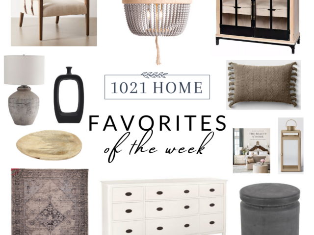 Favorite Home Decor Items of the Week – 10.30.20