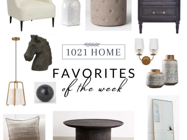 Favorite Home Decor Items of the Week – 11.6.20