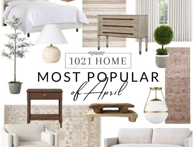 Most Popular Home Decor in April