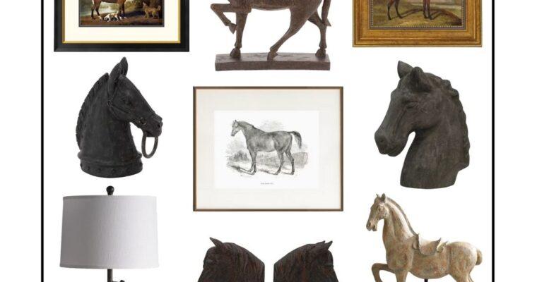 Our Favorite Horse Décor